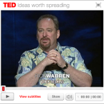 Pastor Rick Warren's TED Talk: A Life of Purpose & What's In Your Hand?