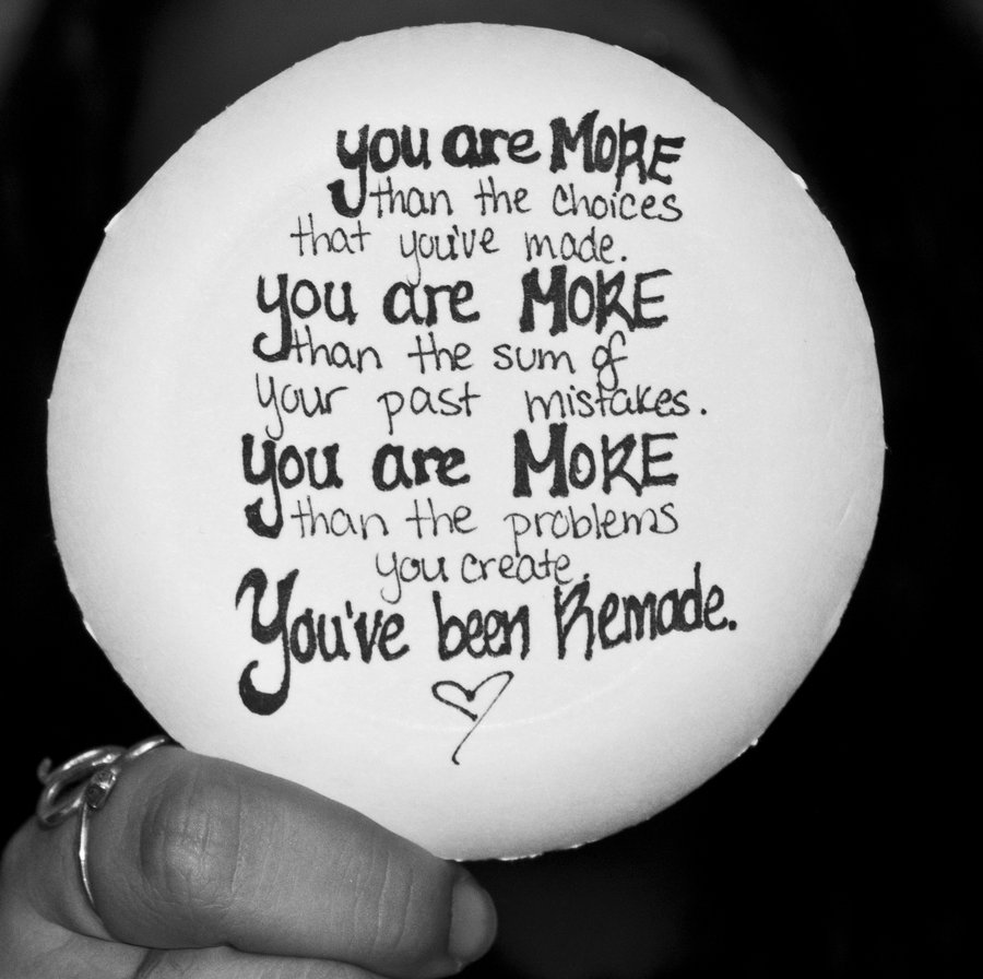 Who You Are In Christ… You Are More